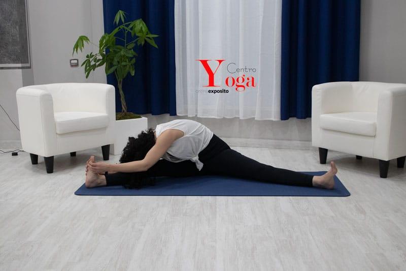 Estiramiento yin yoga