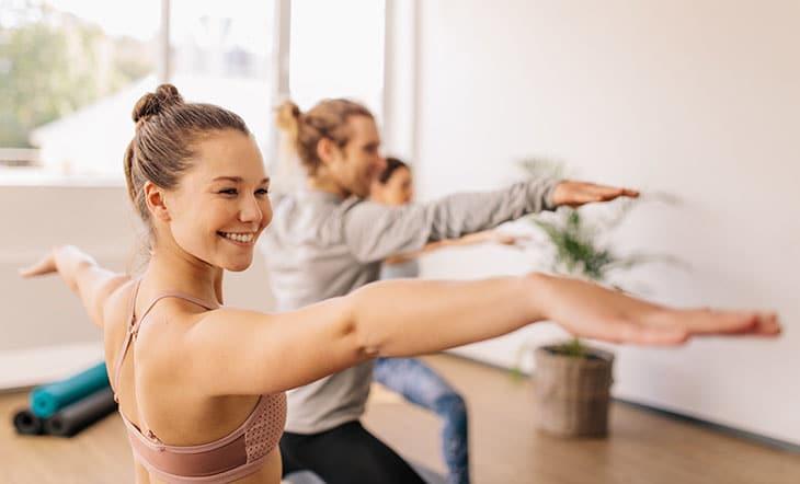 Yoga beneficio dental